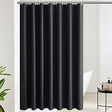 Furlinic Shower Curtain Extra long Waterproof