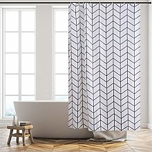 Furlinic Shower Curtain Mildew Resistant