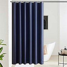 Furlinic Shower Curtain Navy Waterproof Long EVA