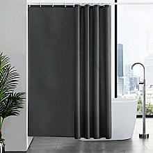Furlinic Shower Curtain With Hooks Extra Long 100%