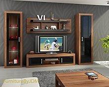 FurniturByJDM TV Wall Unit, TV Table Set, Living