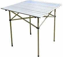 Furniture 247 Outdoor Metal Folding Table,