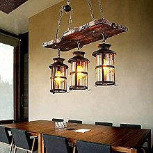 FURNITURE 3-Light Wood Rustica Light, Fixture