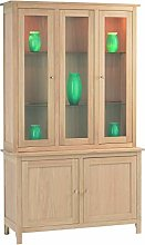 Furniture Creation Tall Display Cabinet, One Size