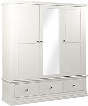Furniture Creation Triple Wardrobe with Central