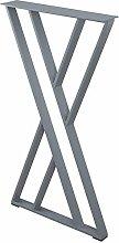 Furniture Leg-Table Leg, Single X-Shaped Table Leg