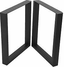 Furniture Legs,2Pcs Hairpin Metal Furniture Table