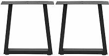 Furniture Legs,2Pcs Industrial Style Table Legs