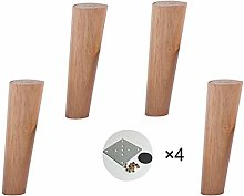Furniture legs HXLQ Solid Wood Sofa Legs (4