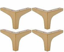 Furniture Legs Set of 4, Metal Furniture Legs,