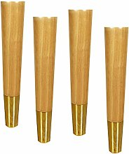 Furniture Legs, Solid Wood Sofa Feet, Replacement