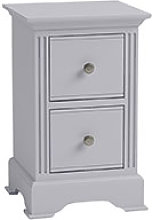 Furniture Mill Bacup Small Bedside in Grey