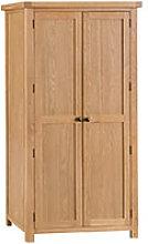 Furniture Mill Corby 2 Door Wardrobe