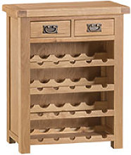 Furniture Mill Corby Small Wine Rack