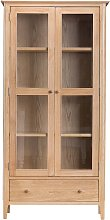 Furniture Mill Newmarket Display Cabinet With