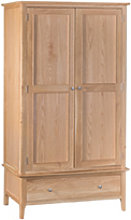 Furniture Mill Newmarket Large 2 Door Wardrobe