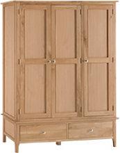 Furniture Mill Newmarket Large 3 Door Wardrobe