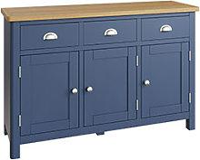 Furniture Mill Radford Blue 3 Door Sideboard
