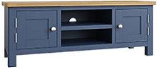 Furniture Mill Radford Blue Large TV Unit