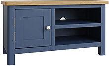 Furniture Mill Radford Blue TV Unit