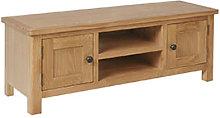 Furniture Mill Radford Oak Large TV Unit
