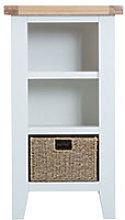 Furniture Mill Tallington Small Narrow Bookcase