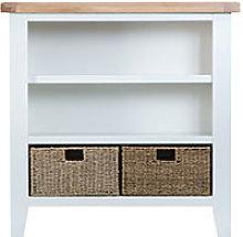 Furniture Mill Tallington Small Wide Bookcase