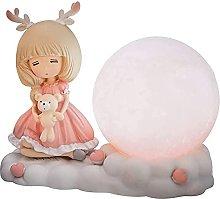FURNITURE Nursery Night Light for Girls Bedroom,