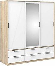 Furniture To Go | Line Wardrobe - 3 Doors 6