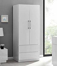Furniturebox UK Fossano Modern Grey/White Stylish