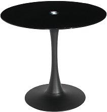 Furniturebox Uk - Manhattan Modern Black Glass