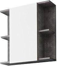 Furnline Bathroom Mirror Cabinet Nano With Storage