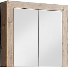 Furnline Bathroom Mirror Cabinet With Storage