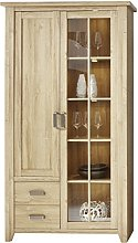 Furnline Living Highboard Display Cabinet With