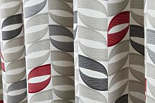 Fusion Copeland Eyelet Red Curtains and Cushions