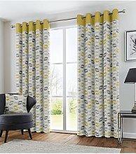 Fusion Copeland Lined Eyelet Curtains