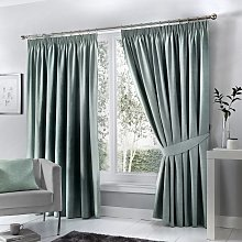 Fusion Dijon Blackout Thermal Lined Curtains -