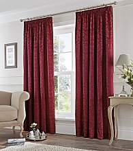 Fusion Eastbourne Lined Curtains - 168x183cm -