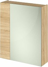 Fusion Furniture Mirrored Cabinet (75/25) 600mm