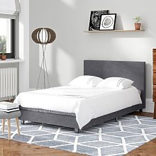 Fusion Upholstered Bed Wrought Studio Size: Small