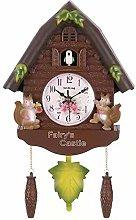 FUTIIF European Style Creative Cuckoo Cuckoo Clock