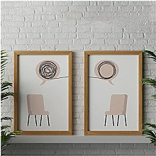 FUXUERUI Therapy Psychologist Wall Art Picture