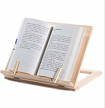 Fuyamp Bamboo Book Stand Bamboo Cookbook Stand