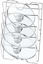 FWQW Pot And Pan Lid Rack Organizer For Kitchen