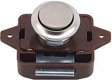 FWQW Push Button Locks Cabinet Door Catch Lock for