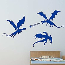 FXBSZ Customizable Dinosaur Silhouette Wall