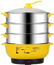 FXDCQC Food Steamer, 220V 10L Large Capacity