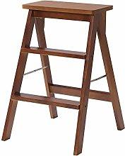 FXLYMR Step Stool Ladder Footstool 3 Solid