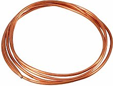 Fydun Copper Tube 2M Soft Copper Tube Pipe OD 4mm