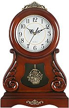 FYHH-JZHY Classic Fireplace Clock With Pendulum